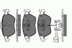 Klocki hamulcowe - komplet SPIDAN 32738