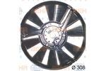 Wentylator kondensatora klimatyzacji HELLA 8EW 009 157-301 HELLA 8EW009157-301