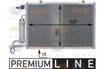 Chłodnica klimatyzacji - skraplacz HELLA  8FC 351 000-411
