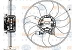 Wentylator chłodnicy silnika HELLA 8EW 351 040-071 HELLA 8EW351040-071