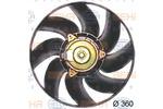 Wentylator chłodnicy silnika HELLA 8EW351043-691