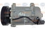 Kompresor klimatyzacji HELLA  8FK 351 125-751-Foto 4
