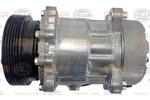 Kompresor klimatyzacji HELLA  8FK 351 125-751-Foto 2