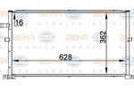 Chłodnica klimatyzacji - skraplacz HELLA 8FC 351 300-324 HELLA 8FC351300-324