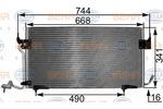 Chłodnica klimatyzacji - skraplacz HELLA 8FC351301291