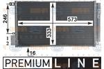 Chłodnica klimatyzacji - skraplacz HELLA  8FC 351 310-581