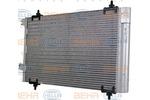 Chłodnica klimatyzacji - skraplacz HELLA 8FC 351 317-574-Foto 5