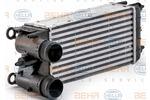 Chłodnica powietrza doładowującego - intercooler HELLA  8ML 376 700-081-Foto 6