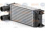 Chłodnica powietrza doładowującego - intercooler HELLA  8ML 376 700-081-Foto 7