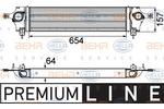 Chłodnica powietrza doładowującego - intercooler HELLA 8ML 376 746-601 HELLA 8ML376746-601