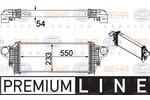 Chłodnica powietrza doładowującego - intercooler HELLA 8ML 376 754-611 HELLA 8ML376754-611