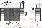 Chłodnica powietrza doładowującego - intercooler HELLA 8ML 376 756-571 HELLA 8ML376756-571