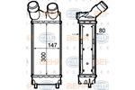 Chłodnica powietrza doładowującego - intercooler HELLA 8ML 376 760-741 HELLA 8ML376760-741