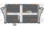 Chłodnica powietrza doładowującego - intercooler HELLA 8ML 376 760-751 HELLA 8ML376760-751