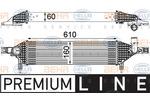Chłodnica powietrza doładowującego - intercooler HELLA 8ML 376 762-201 HELLA 8ML376762-201