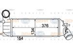 Chłodnica powietrza doładowującego - intercooler HELLA 8ML 376 776-251 HELLA 8ML376776-251