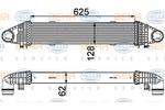 Chłodnica powietrza doładowującego - intercooler HELLA 8ML 376 777-091 HELLA 8ML376777-091