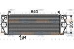 Chłodnica powietrza doładowującego - intercooler HELLA 8ML 376 777-381 HELLA 8ML376777-381