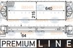 Chłodnica powietrza doładowującego - intercooler HELLA 8ML 376 777-391 HELLA 8ML376777-391