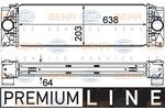 Chłodnica powietrza doładowującego - intercooler HELLA 8ML 376 777-401 HELLA 8ML376777-401