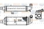Chłodnica powietrza doładowującego - intercooler HELLA 8ML 376 899-081 HELLA 8ML376899-081