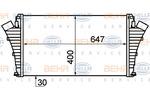 Chłodnica powietrza doładowującego - intercooler HELLA 8ML 376 899-151 HELLA 8ML376899-151