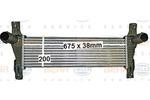 Chłodnica powietrza doładowującego - intercooler HELLA 8ML 376 900-611 HELLA 8ML376900-611