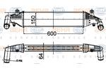 Chłodnica powietrza doładowującego - intercooler HELLA 8ML 376 988-284 HELLA 8ML376988-284