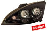 Zestaw reflektora głównego HELLA 1DL008367-921