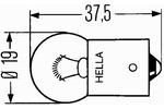Żarówka światła obrysowe i pozycyjne HELLA 8GA 002 071-241-Foto 2