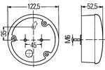 Lampa tylna zespolona HELLA 2SB 964 169-301 HELLA  2SB 964 169-301 (Z lewej) (Z prawej)-Foto 2