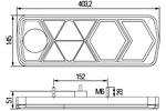 Lampa tylna zespolona HELLA 2VP 340 950-011 HELLA  2VP 340 950-011 (Z lewej)-Foto 2