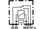 Przekaźnik prądu pracy HELLA 4RD 007 903-001 HELLA  4RD 007 903-001-Foto 2