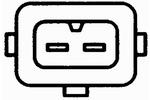 Czujnik spalania stukowego HELLA  6PG009108-191-Foto 2