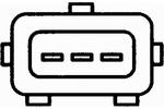 Generator impulsów, wał korbowy HELLA  6PU 009 146-081-Foto 2
