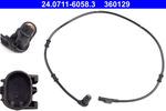 Czujnik prędkości obrotowej koła (ABS lub ESP) ATE 24.0711-6058.3