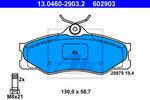 Klocki hamulcowe - komplet ATE 13.0460-2903.2