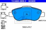 Klocki hamulcowe - komplet ATE 13046038092