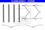 Zestaw akcesoriów klocków hamulcowych ATE 13.0460-0339.2 ATE 13.0460-0339.2