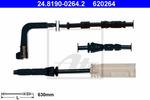 Czujnik zużycia klocków hamulcowych ATE 24.8190-0264.2 ATE 24.8190-0264.2