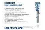 Zestaw zawieszenia - sprężyny śrubowe i amortyzatory BILSTEIN Bil_023557