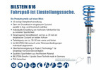 Zestaw zawieszenia - sprężyny śrubowe i amortyzatory BILSTEIN Bil_023244