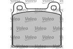 Klocki hamulcowe - komplet VALEO 597001