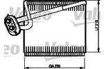 Parownik klimatyzacji VALEO 515142