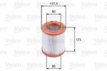 Filtr powietrza VALEO 585677