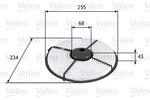 Filtr powietrza VALEO 585704