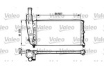 Chłodnica wody VALEO 731562