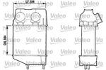 Chłodnica powietrza doładowującego - intercooler VALEO  816606