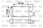 Chłodnica powietrza doładowującego - intercooler VALEO 817626 VALEO 817626