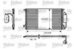 Chłodnica klimatyzacji - skraplacz<br>VALEO<br>817809